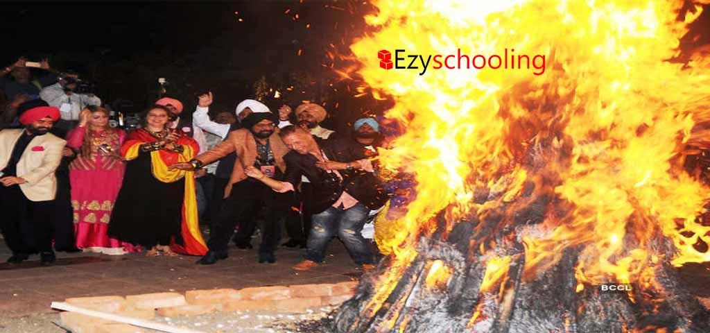 Lohri the bonfire festival