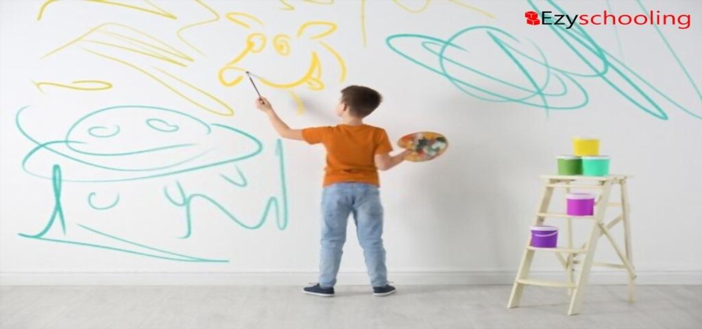 Wall scribbling