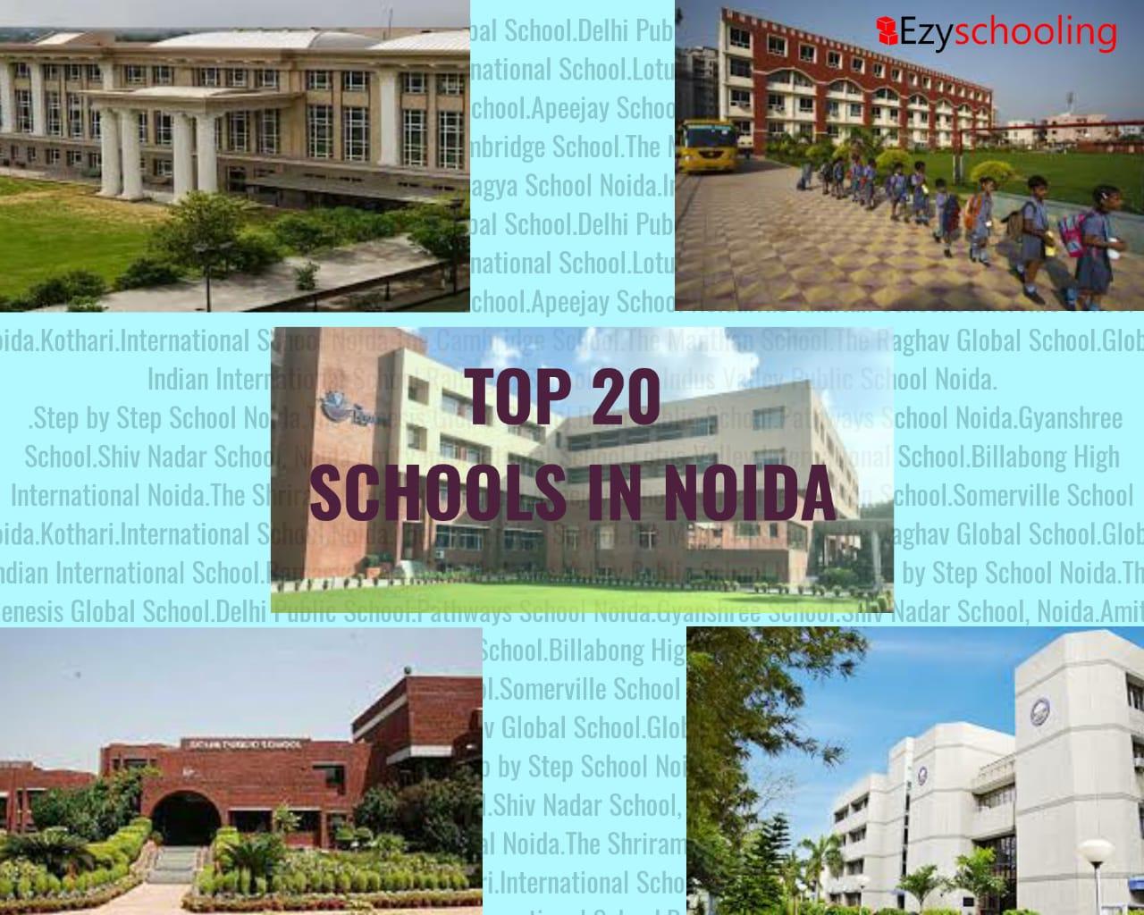 Top 20 Schools in Noida