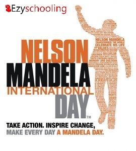 Nelson Mandela Day- long walk to freedom