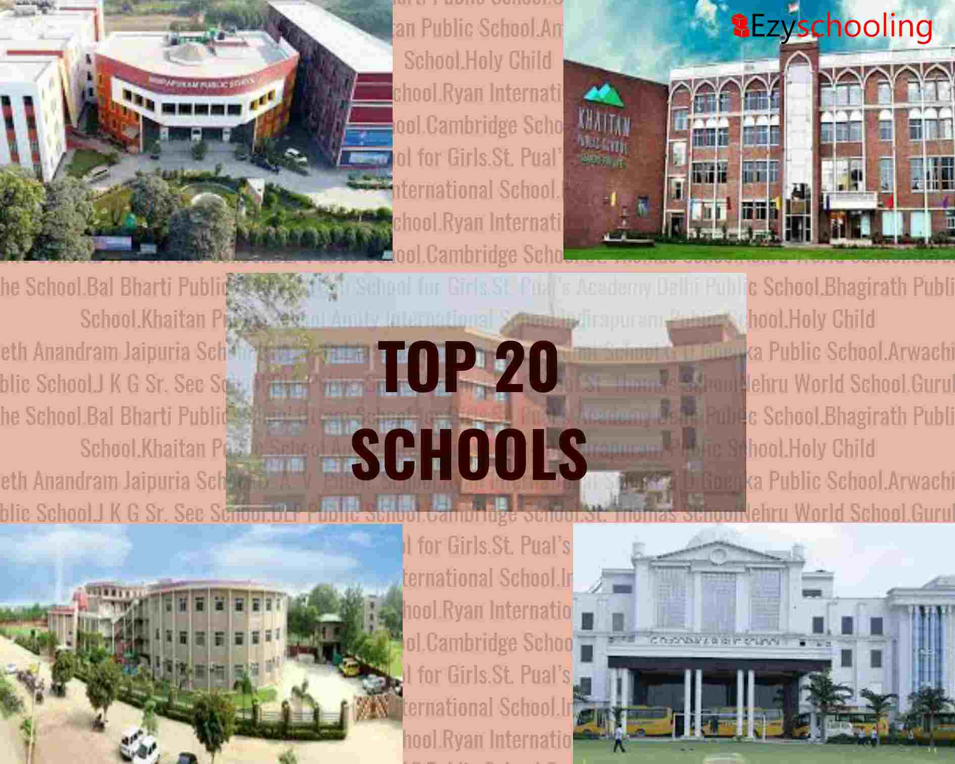 Top 20 Schools in Ghaziabad