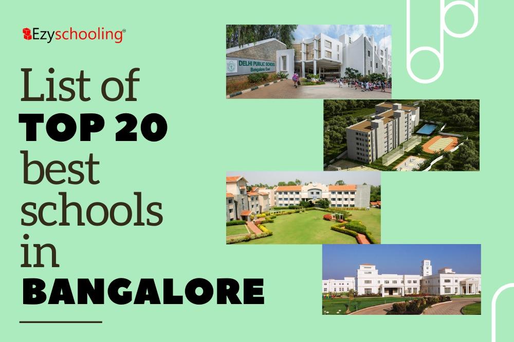 List of Top 20 Best Schools in Bangalore
