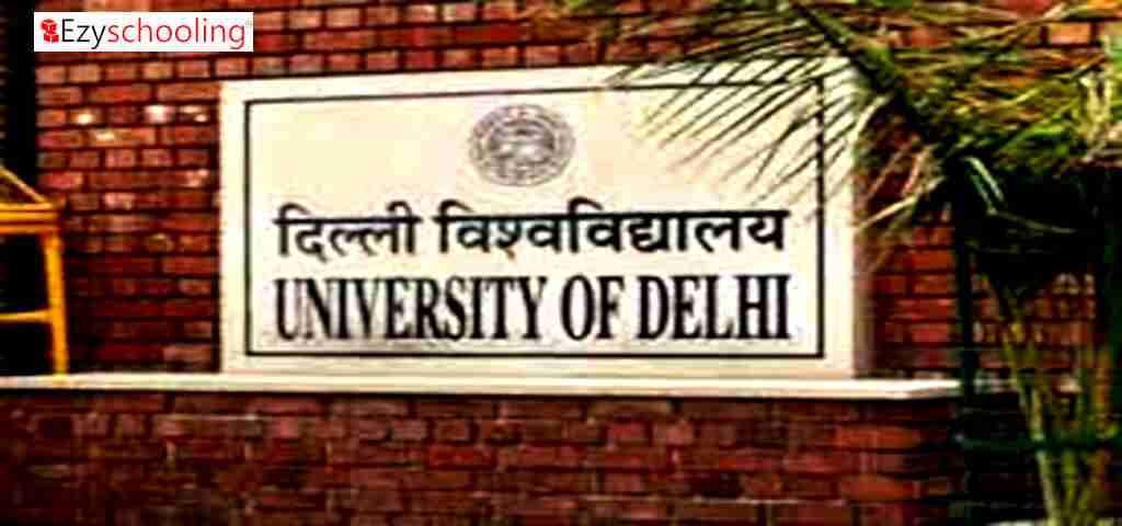 Funds for Delhi University