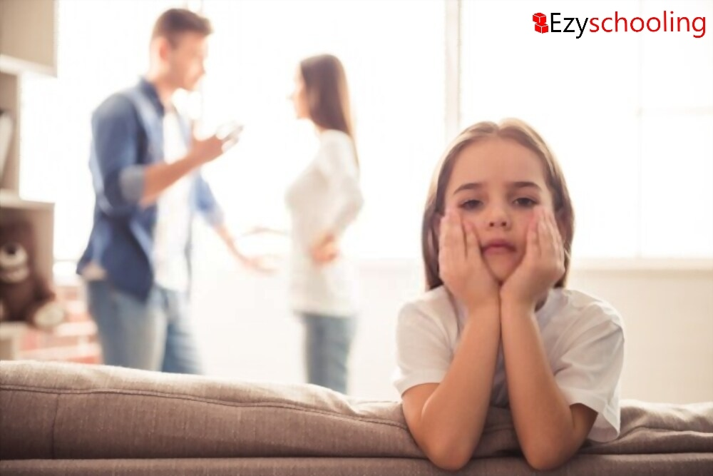 Effect of parents' conflict on kids