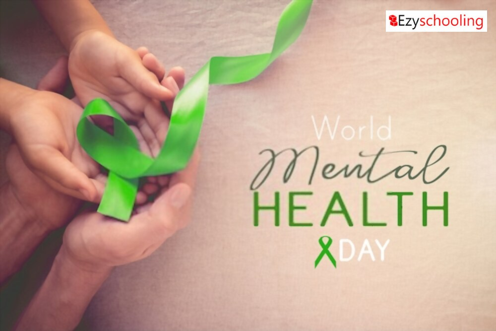 "Ezyschooling commemorating ""World Mental Health"" day"