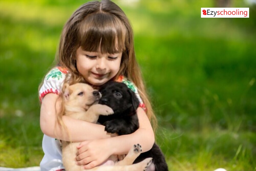 Four reasons why you should adopt a pet for your kid