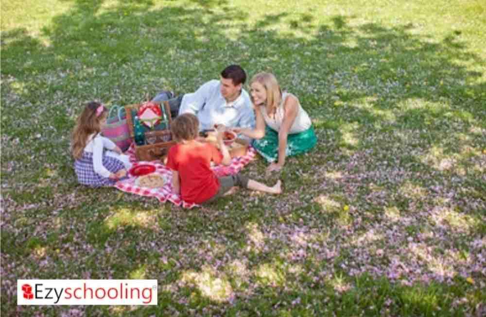 Creating memories with children
