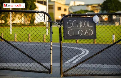 Teachers concern over schools shutdown