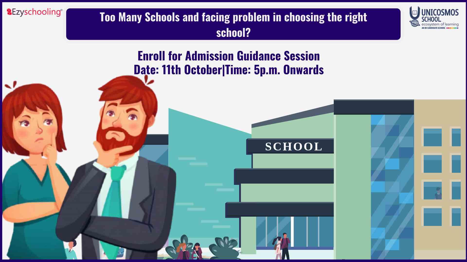 Workshop on school selection in Gurgaon