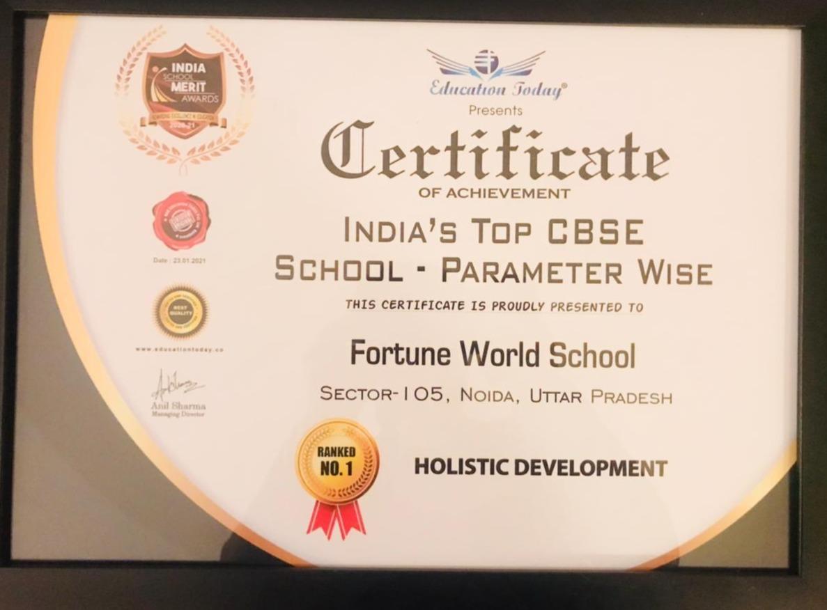 Fortune World School Sector 105 Noida