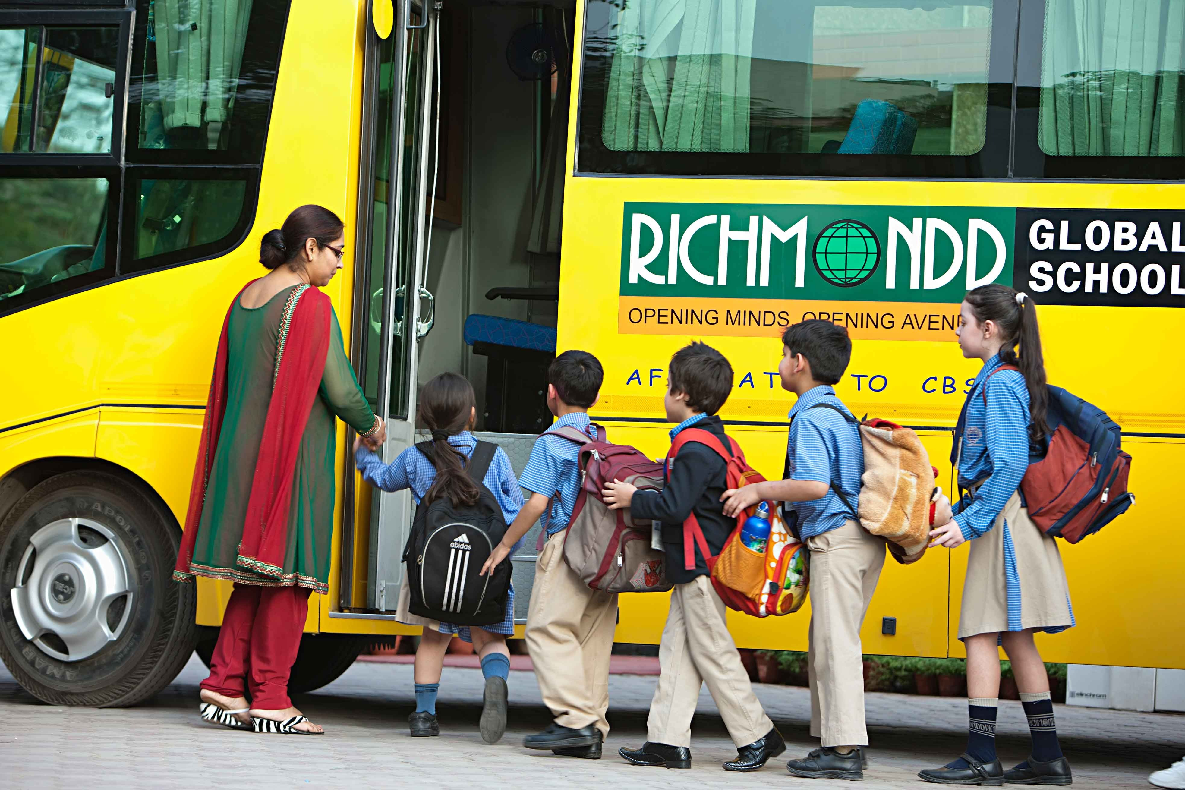 Richmondd Global School Paschim Vihar West Delhi