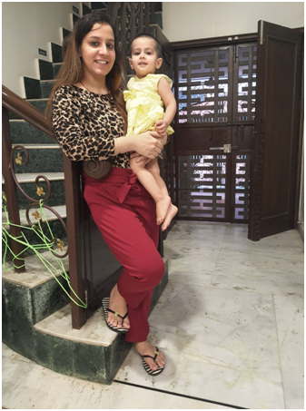 Geetika Bajaj guide on baby feeding