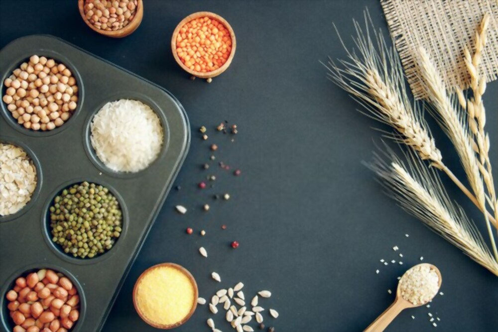 Legumes, rice and pulses for iron deficiency