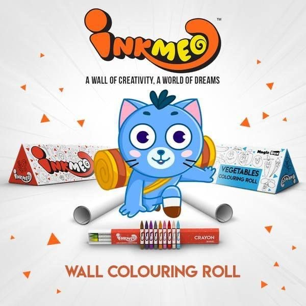 Wall coloring rolls
