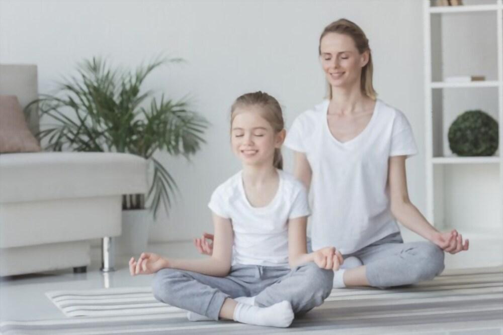 Teach meditation to kids