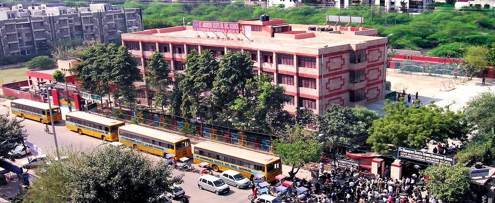 St. Andrews Scots Senior Secondary School, PatparganjTop schools in east Delhi