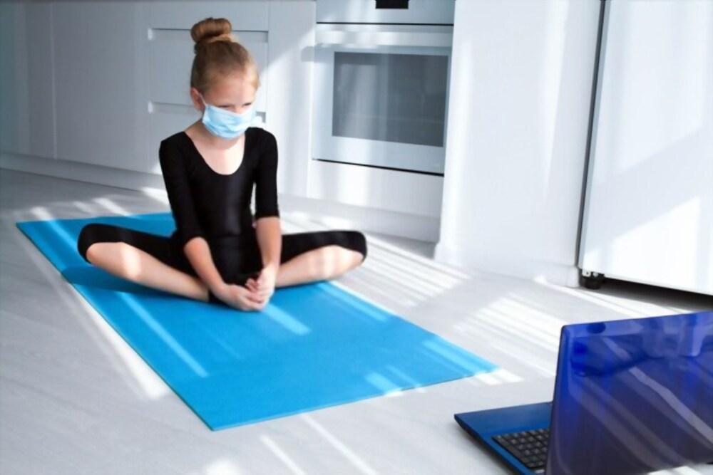 Yoga for kids in lockdown