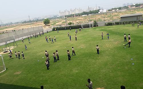 Salvation Tree School: Sports field