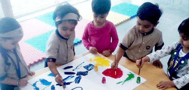 Salvation Tree School: Visual art room