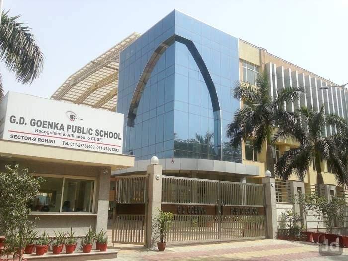 g d goenka school rohini sector 9