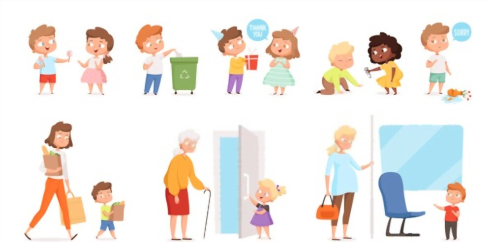 good manners in children