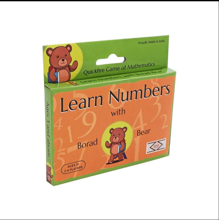 Learn Numbers with Borad Bear