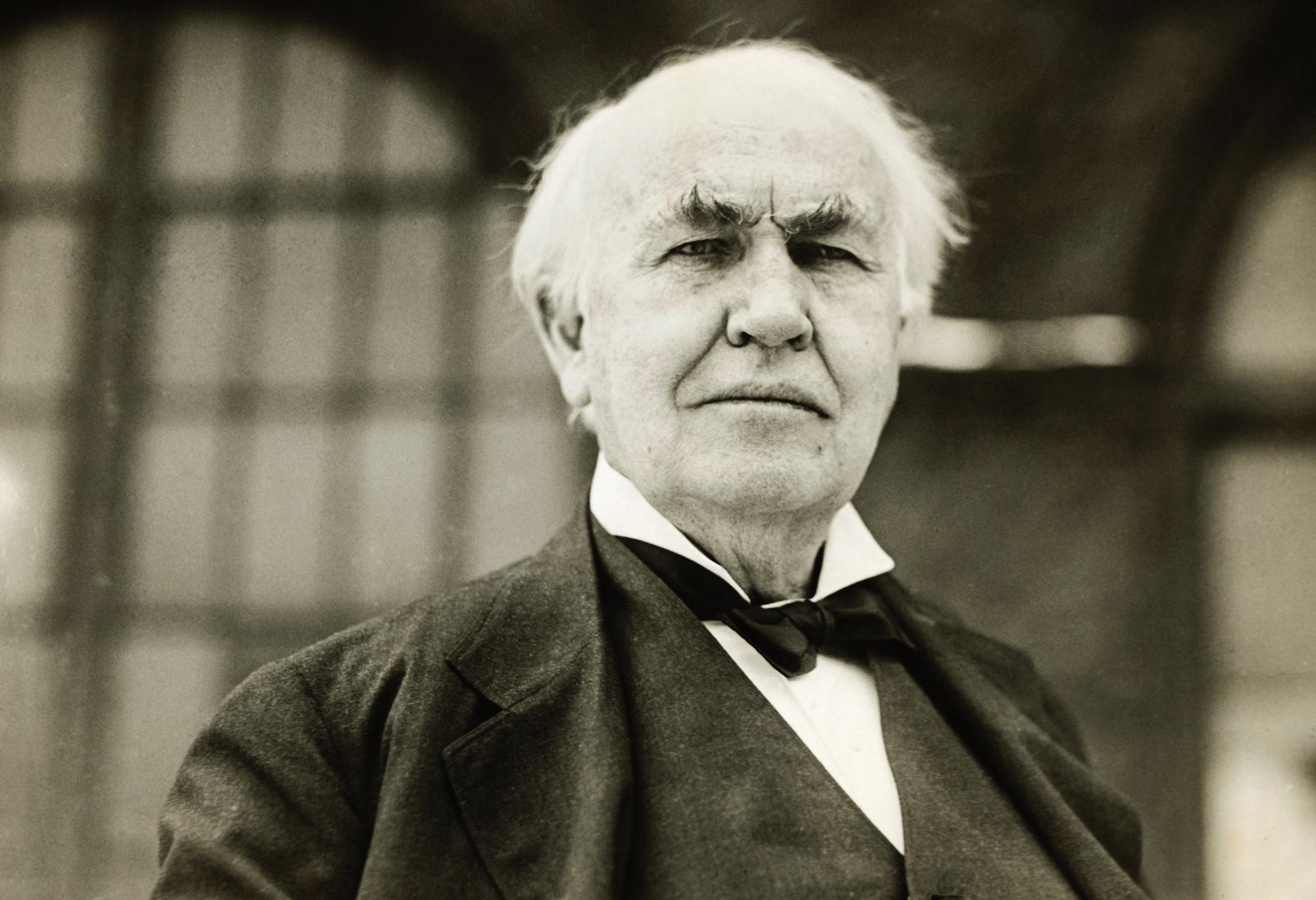 Thomas Edison Learning Disability