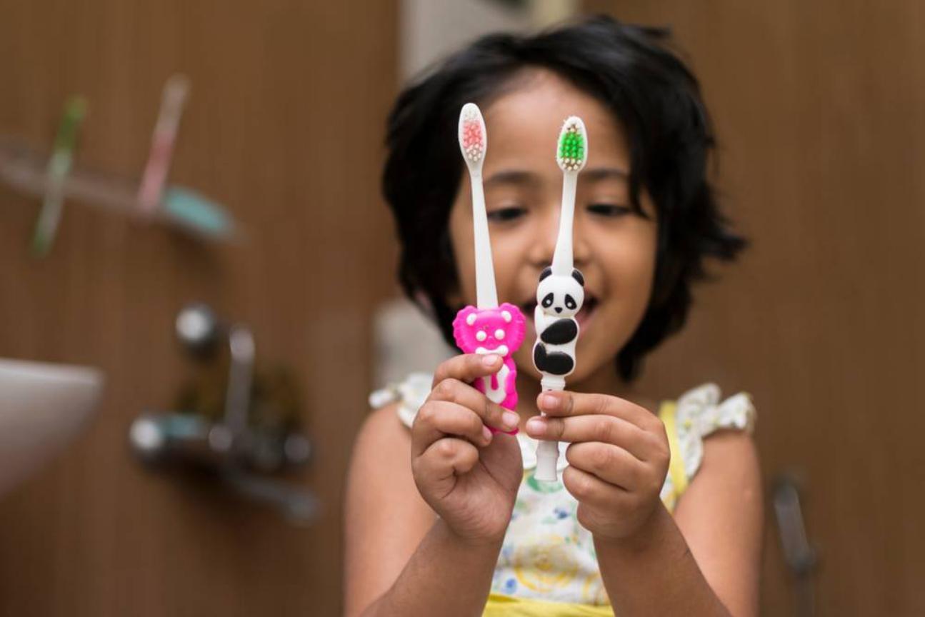 teaching dental hygiene to preschoolers