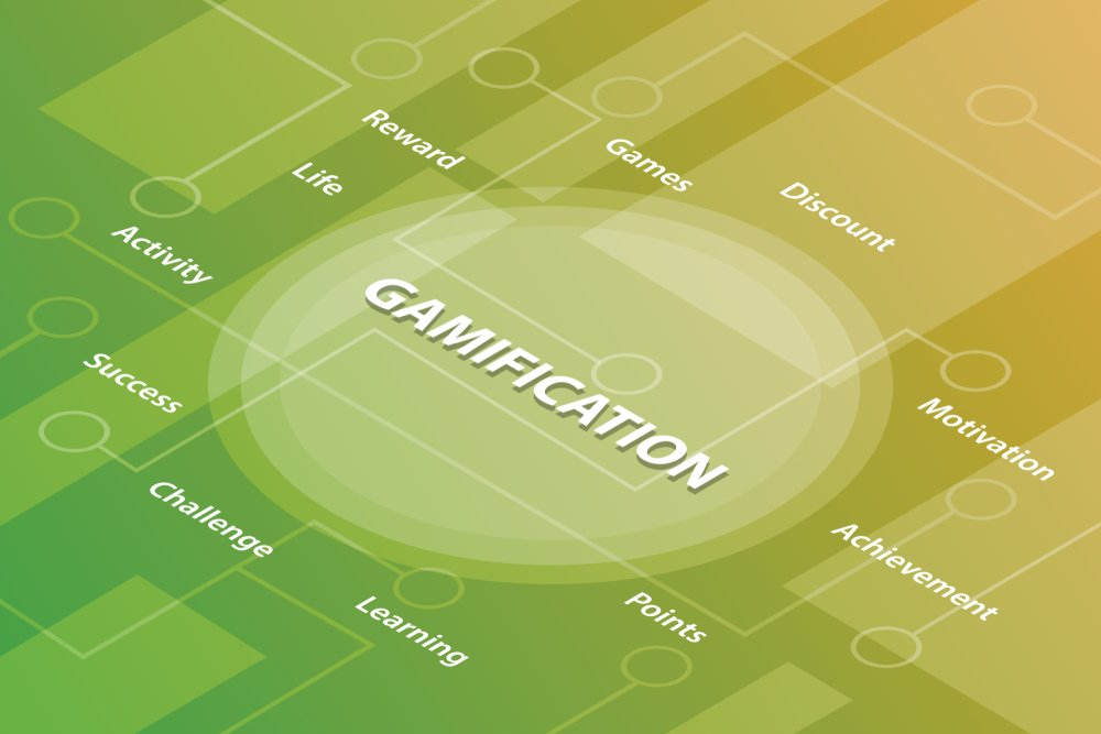 A 3D Gamification icon, showing its principles