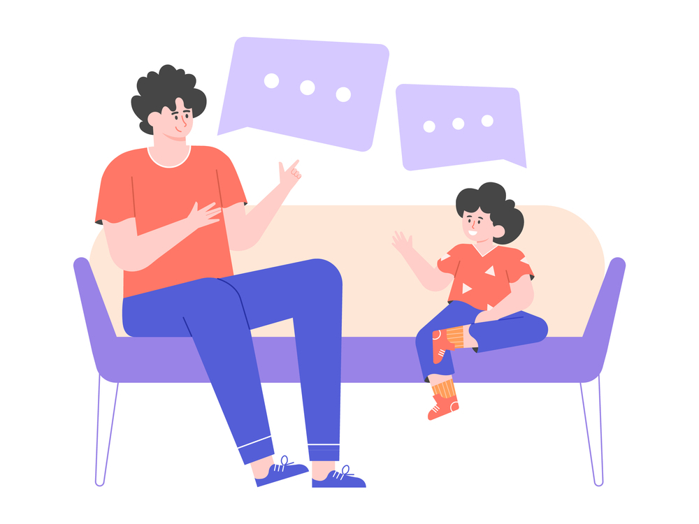 Let your child know what is a good screen time average