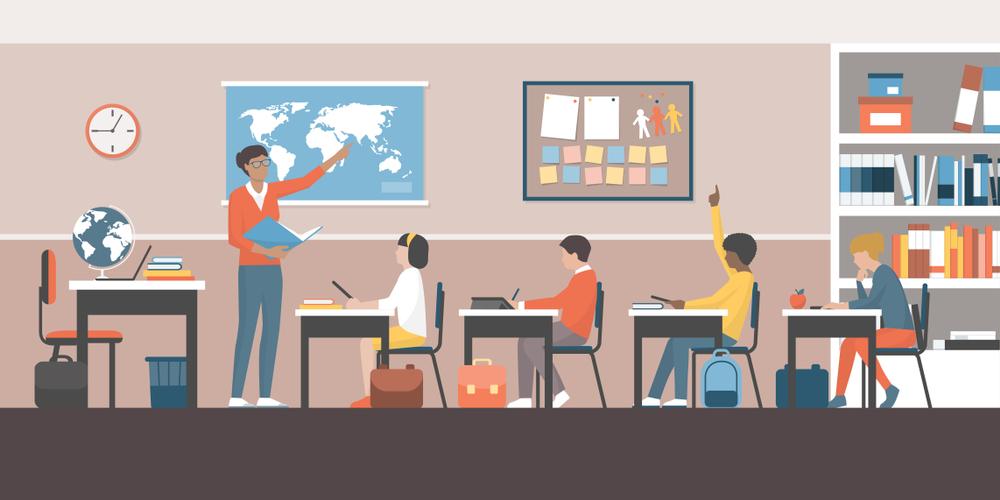 The student-teacher ratio should be suitable enough