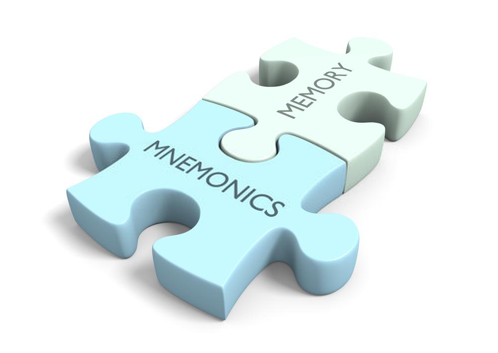 Mnemonics improve memory